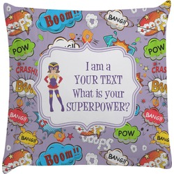 What is your Superpower Euro Sham Pillow Case (Personalized)
