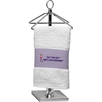 What is your Superpower Cotton Finger Tip Towel (Personalized)