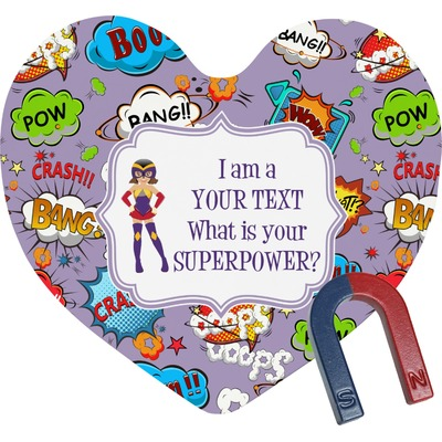 What is your Superpower Heart Fridge Magnet (Personalized)