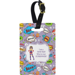What is your Superpower Rectangular Luggage Tag (Personalized)