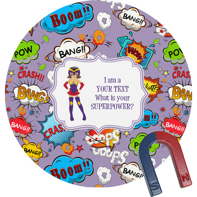 What is your Superpower Round Magnet (Personalized)