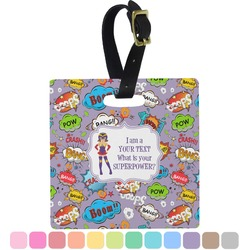 What is your Superpower Square Luggage Tag (Personalized)