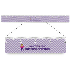 """What is your Superpower Plastic Ruler - 12"""" (Personalized)"""