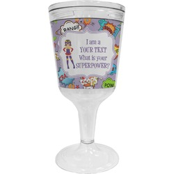 What is your Superpower Wine Tumbler - 11 oz Plastic (Personalized)