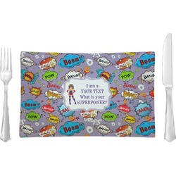 What is your Superpower Rectangular Glass Lunch / Dinner Plate - Single or Set (Personalized)