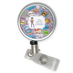 What is your Superpower Retractable Badge Reel (Personalized)