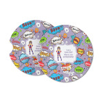 What is your Superpower Sandstone Car Coasters (Personalized)