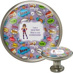 What is your Superpower Cabinet Knob (Silver) (Personalized)