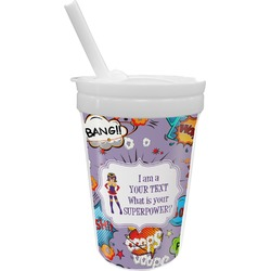 What is your Superpower Sippy Cup with Straw (Personalized)