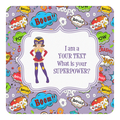 What is your Superpower Square Decal (Personalized)