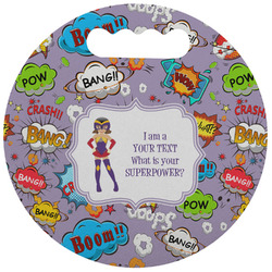 What is your Superpower Stadium Cushion (Round) (Personalized)