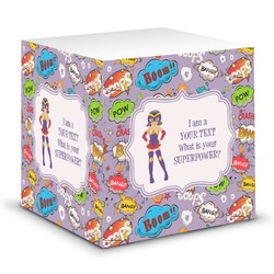 What is your Superpower Sticky Note Cube (Personalized)