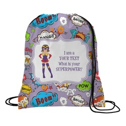 What is your Superpower Drawstring Backpack (Personalized)