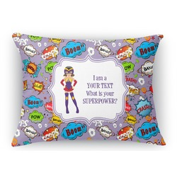 What is your Superpower Rectangular Throw Pillow Case (Personalized)