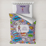 What is your Superpower Toddler Bedding w/ Name or Text