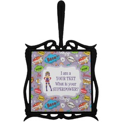 What is your Superpower Trivet with Handle (Personalized)