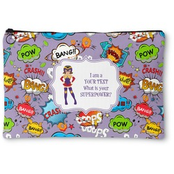 What is your Superpower Zipper Pouch (Personalized)