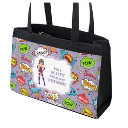 What is your Superpower Zippered Everyday Tote (Personalized)