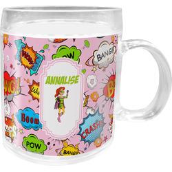 Woman Superhero Acrylic Kids Mug (Personalized)