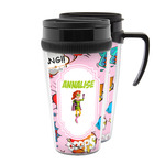 Woman Superhero Acrylic Travel Mugs (Personalized)
