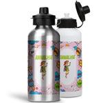 Woman Superhero Water Bottles- Aluminum (Personalized)