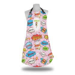 Woman Superhero Apron (Personalized)
