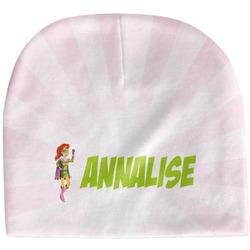 Woman Superhero Baby Hat (Beanie) (Personalized)