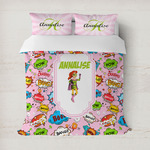 Woman Superhero Duvet Covers (Personalized)