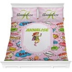 Woman Superhero Comforters (Personalized)