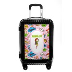 Woman Superhero Carry On Hard Shell Suitcase (Personalized)