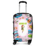 Woman Superhero Suitcase (Personalized)