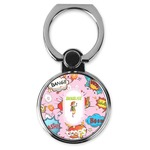 Woman Superhero Cell Phone Ring Stand & Holder (Personalized)