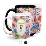 Woman Superhero Coffee Mugs (Personalized)