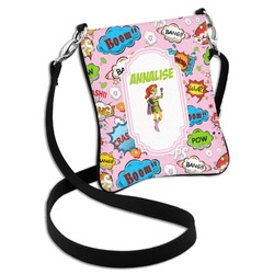 Woman Superhero Cross Body Bag - 2 Sizes (Personalized)