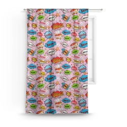 Woman Superhero Curtain (Personalized)