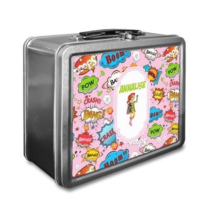 Woman Superhero Lunch Box (Personalized)