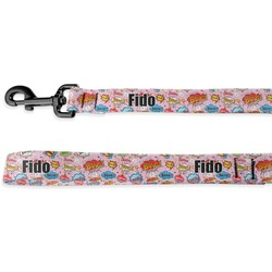 Woman Superhero Deluxe Dog Leash (Personalized)