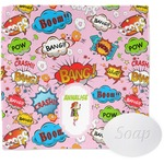 Woman Superhero Wash Cloth (Personalized)