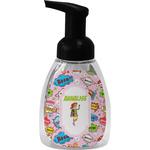 Woman Superhero Foam Soap Dispenser (Personalized)