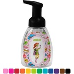 Woman Superhero Foam Soap Dispenser (Personalized)