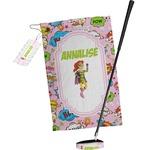 Woman Superhero Golf Towel Gift Set (Personalized)