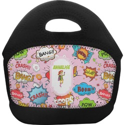 Woman Superhero Toddler Lunch Tote (Personalized)