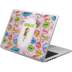 Woman Superhero Laptop Skin - Custom Sized (Personalized)