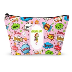 Woman Superhero Makeup Bags (Personalized)