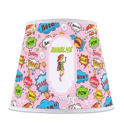 Woman Superhero Empire Lamp Shade (Personalized)