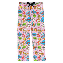 Woman Superhero Mens Pajama Pants (Personalized)
