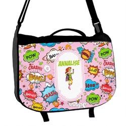 Woman Superhero Messenger Bag (Personalized)