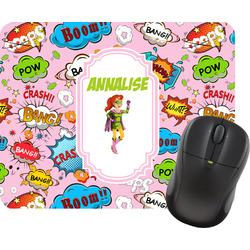 Woman Superhero Mouse Pad (Personalized)