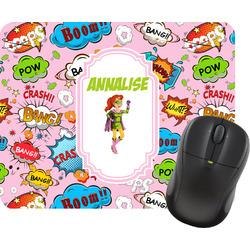 Woman Superhero Mouse Pad (Personalized)