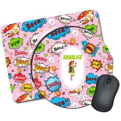 Woman Superhero Mouse Pads (Personalized)